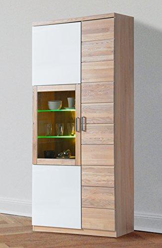 Möbeldesign Team 2000 Vitrine Sonoma Eiche sägerau teilmassiv 7301-3