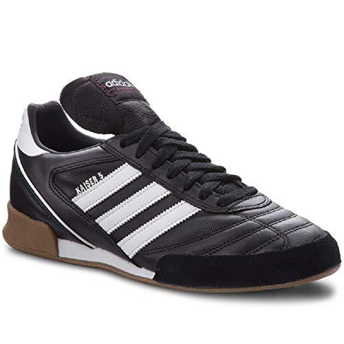 Adidas Kaiser 5 Hallen Fußballschuhe (46 EU, schwarz/weiß)