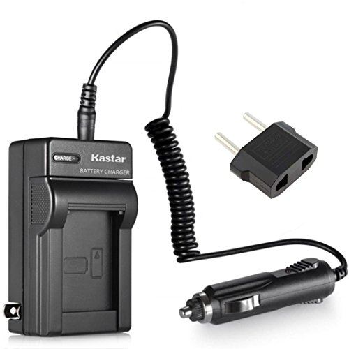 Kastar Battery Charger for Sony NP-BG1 and Sony Cybershot DSC-W120 W170 DSC-W200 DSC-W210 DSC-W215 DSC-W220 DSC-W230 DSC-W270 DSC-W275 DSC-W290 DSC-W300 DSC-W30 DSC-W35 DSC-W40 DSC-W50 DSC-W55 DSC-W70
