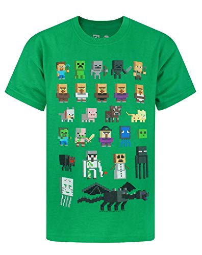 Unbekannt Minecraft Sprites Boy's T-Shirt (7-8 years)
