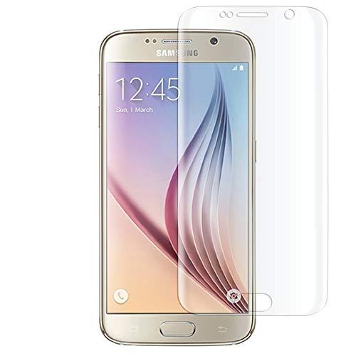 e-phoria Cristal Templado Compatible con Samsung Galaxy S6   Protección Frontal