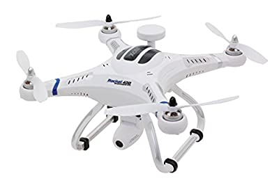 XciteRC 15001700 - Remote-Controlled RC Quadrocopter Drone Rocket 400 GPS - RTF Version III with HD Camera Mode 2 from XciteRC