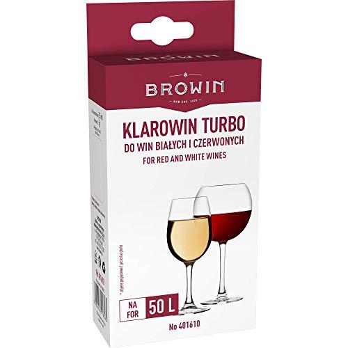 MultiDepot WEINKLÄRMITTEL Turbo 50ml SCHÖNUNGSMITTEL zum Wein KLÄREN WEINHERSTELLUNG 401610