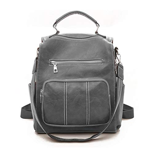 Women's Backpack Fashion Casual Backpack, Soft Leather Travel School Bag