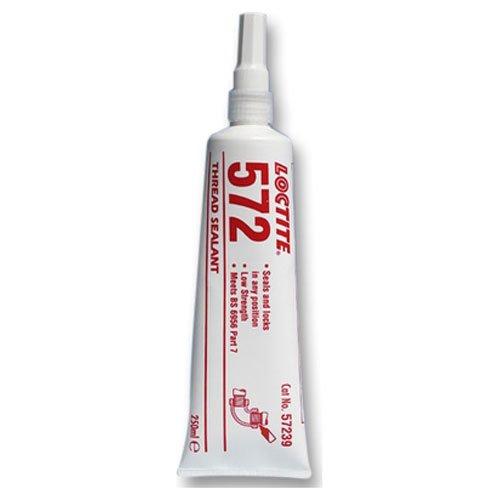 Loctite 572 sellador de rosca de baja resistencia de secado lento 250 ml