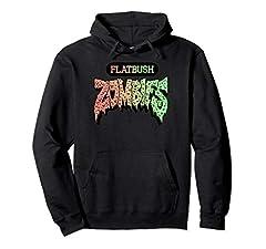 Flatbush Apparel Zombies Triangle Colorful Rainbow Tie Dye Merch Merchandise 8.5 oz, Classic fit, Twill-taped neck