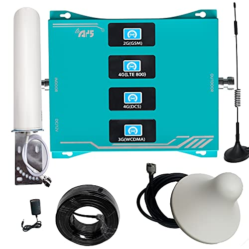 4G 3G 2G 4-banda LTE GSM 800 900 1800 2100 MHZ ripetitore del segnale del telefono cellulare banda 20 8 3 1