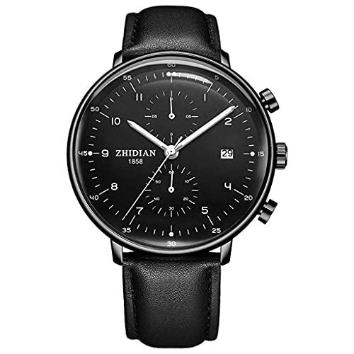 Reloj para Hombre Fashion Trend 2018 New Concept Watch Reloj mecánico multifunción Resistente al Agua (Color: A) (Color: F), Relojes