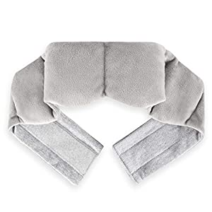 Pain-Relieving: Gentle Compress Pads - filled beads - provide a gentle massage around the eyes. Relief for migraine headaches, tension headaches, sinus pain, puffy eyes, dry eyes and eyestrain. Gentle pressure helps calm your mind and creates a seren...