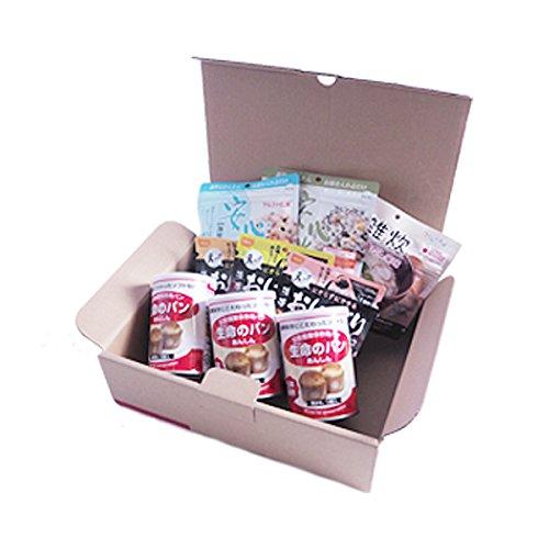 ピースアップ 3日分(9食) 非常食セット A4サイズBOX入り アルファ米/パンの缶詰
