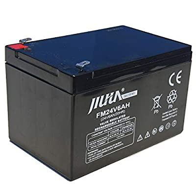JIUTA 24V 6Ah Rechargeable Lead Acid Battery for Sea Scooter Diving Equipment Underwater Propeller Diving Equipment