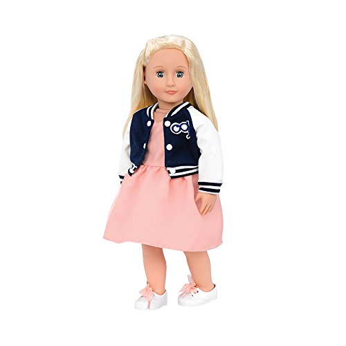 Our Generation by Battat- Terry 18' Non-Posable Retro Fashion Doll- for Age 3 Years & Up