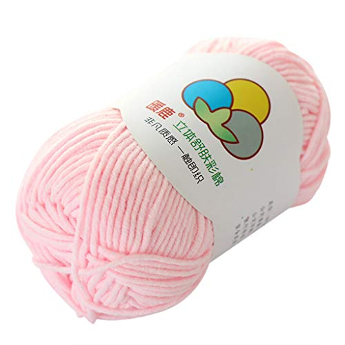 Wool Yarn Hand-Woven 5 Strands of Milk Cotton Warm Soft Scarf Sweater Wool Thread Home & Garden Home Textiles Christmas for Faclot