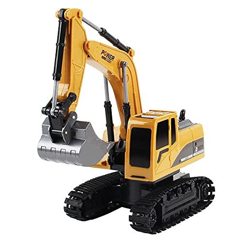 RC Modelo Excavadora, 1:24 5CH Control Remoto Excavadora de luz Ingeniería Coche RC Modelo Camión Vehículo Juguete