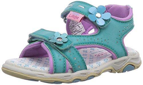 Prinzessin Lillifee Mädchen 410340 Offene Sandalen mit Keilabsatz, Blau (lagoon), 30