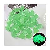 Piedras Luminosas Piedras Luminosas Coloreadas De 200 Piezas, Guijarros Artificiales Que Brillan En La Oscuridad Y Luminosa Grava Decorativa para Fiestas De Vacaciones En Interiores Y Exteriores