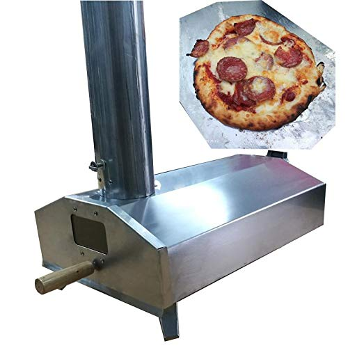 Super grills Outdoor Pizza Oven Stainless Steel Table Top Portable Italian Portable Wood Fired BBQ Pizza Maker
