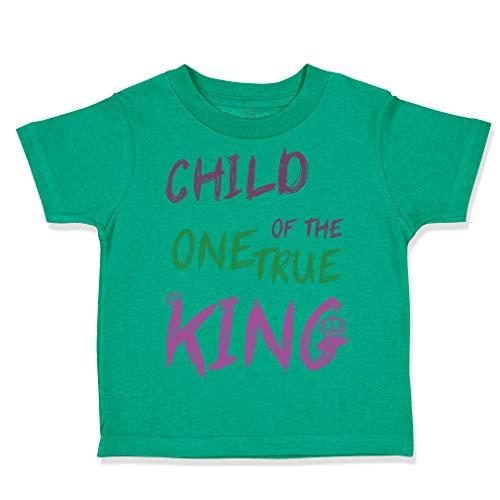 Custom Toddler T-Shirt Child of The 1 True King Christian covid 19 (One Christian Toddler Shirt coronavirus)