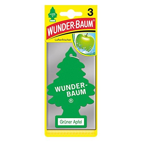 Wunderbaum 171207 Grüner Apfel, 3-er Pack
