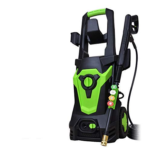 PowRyte Elite Power Washer,Electric Pressure Washer with 4 Universal Spray Nozzles and Detergent Tank,Pressure Cleaner