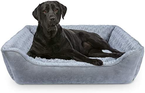 SIWA MARY Rectangle Dog Bed Machine Washable Pet Bed Soft and Thickened Enough Breathable Dog product image