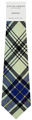 I Luv Ltd Gents Neck Tie Hannay Modern Tartan Lightweight Scottish Clan Tie