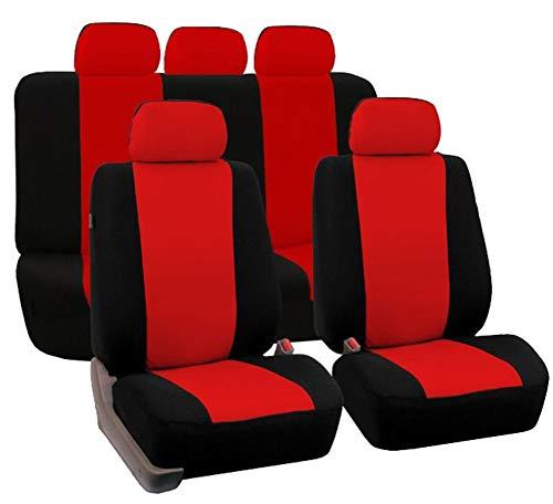 GUOCU Universal Auto Schonbezug Komplettset Sitzbezüge für Auto,Un tamaño,