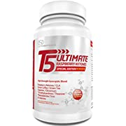 T5 Ultimate| 1750mg Active per Serving | Advanced Formula with Green Coffee, Green Tea, CLA, Cayenne, Theanine, Chromium, Iron and More (Raspberry Ketones Edition)