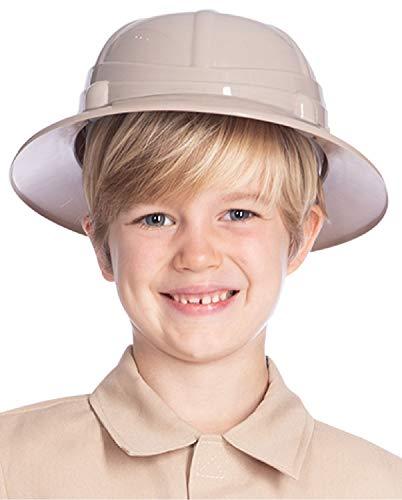 Kinder Jungen Mädchen Safari Hut Dschungel Tier Wildlife Explorer Kostüm Outfit Zubehör