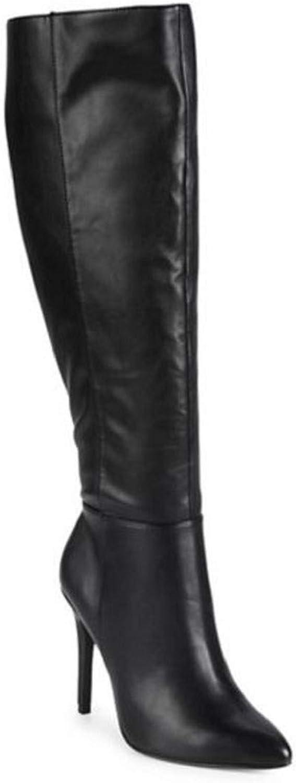 CHARLES BY CHARLES DAVID Women's Dallan Boot Black Stretch 5.5 M US M
