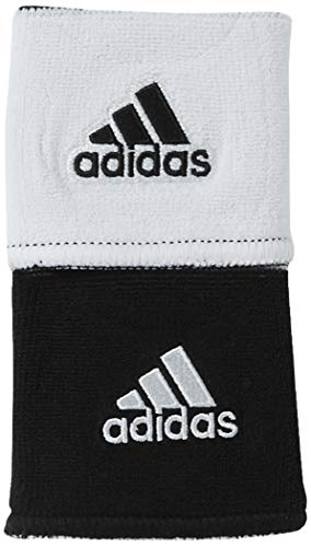 adidas Interval - Muñequera Reversible, Color Blanco,...