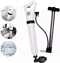 New Innovation Manual Drain Cleaner, Toilet Plunger,Air Drain Blaster,Clogged Pipe, High Pressure Air Drain Unblocker, App...