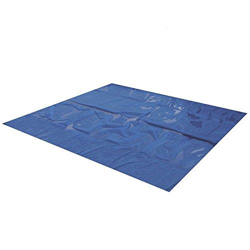 Miganeo® 549x274 cm Premium Solarplane schwarz/blau Poolheizung rechteckig für Pool