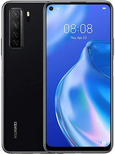 Huawei P40 Lite 5G - Smartphone 128GB, 6GB RAM, Dual SIM, Midnight Black (Generalüberholt)