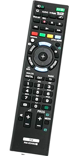 ALLIMITY RM-ED053 Fernbedienung Ersatz für Sony Bravia TV KDL-32W605A KDL32W650A KDL-32W650A KDL-32W651A KDL-32W656A KDL42W650A KDL-42W650A KDL-42W651A KDL-42W653A KDL-42W654A
