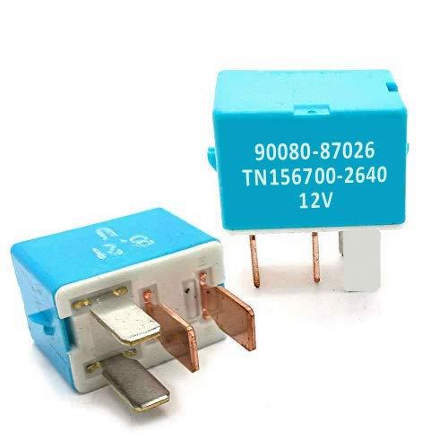 2 Pack AC Relay OEM 90080-87026 90987-02027 90987-02028