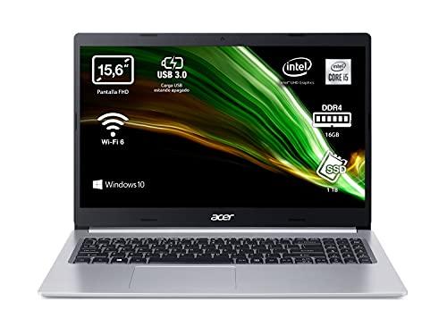 Acer Aspire 5 A515-55 - Ordenador Portátil 15.6'...