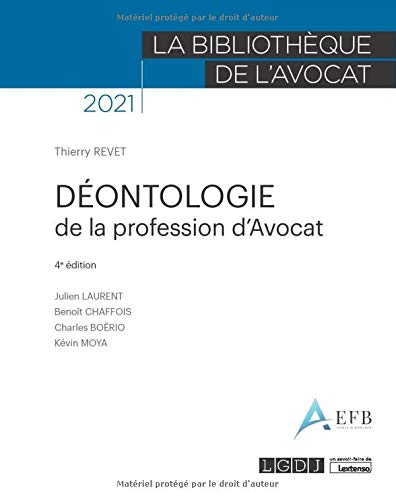 Déontologie de la profession davocat (2021)