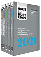 5 Years of Must Reads from HBR: 2021 Edition (5 Books) Front Cover