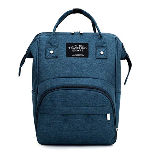 MiK Simple Carry Clip Maternity Nappy Diaper Bag Large Capacity Baby Travel Backpack Handbag