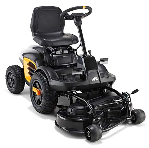 McCulloch M F 125-85 Ride-On Lawn Mower Mulching, Wheels, Startup: Electric Cutting 85 cm