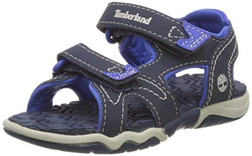Timberland Unisex-Kinder Adventure Seeker 2 Strap (Toddler) Sandalen, Blau (Midnight Navy H64), 24 EU
