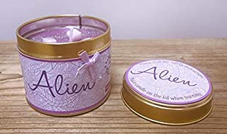 'Alien' Perfume Scented Candle Tin - Personalised