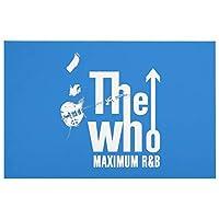 The WHO ザ・フー 2 バスルームのためのドアマットノンスリップカーペットクリスタルベルベットフロアパッド台所のリビングルーム敷物