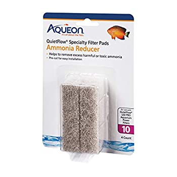 Aqueon 100106278 Quiet Flow 10 Ammonia Reducing Specialty Filter Pad,Original Version