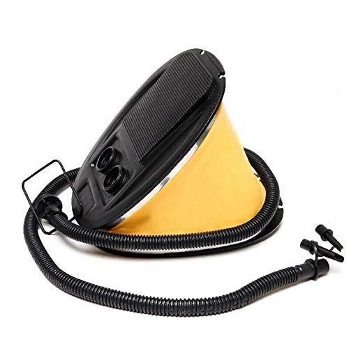 Pompa a pedale Air Step Pump Press Type Gonfiatore a soffietto per materassino da campeggio giallo (3L)