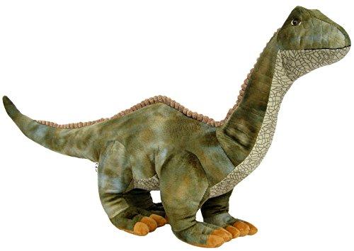 Wagner 4512 - Plüschtier Dinosaurier Brontosaurus - 55 cm Gross - Dino Brontosaurier Kuscheltier