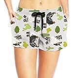 Bañador para mujer LLOOP Cactus Cactus Cactus Lindos perros Playa Bañador Bañador para mujer 1 color XL