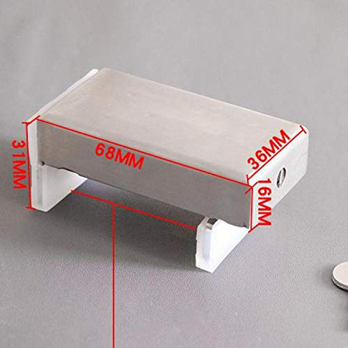Fslt gesp 2 stuks koffer gereedschapskist gereedschapskist borst materiaalklem antistatisch gordijn raamslot kabinet-1 tas
