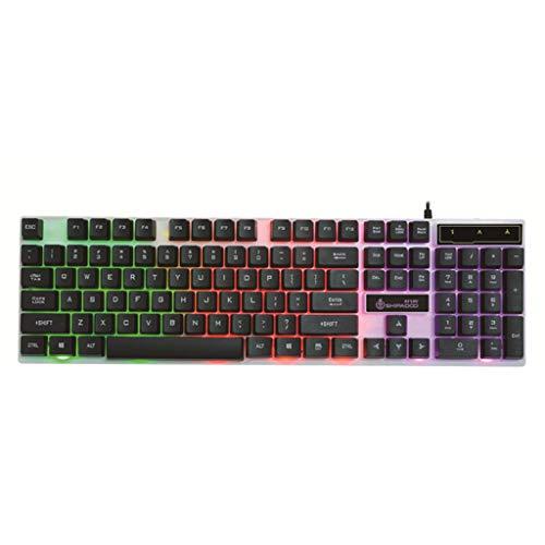 Gaming-Tastatur, mechanische Tastatur Beleuchtung Cuter, Laptop, Spielgerät, Zubehör